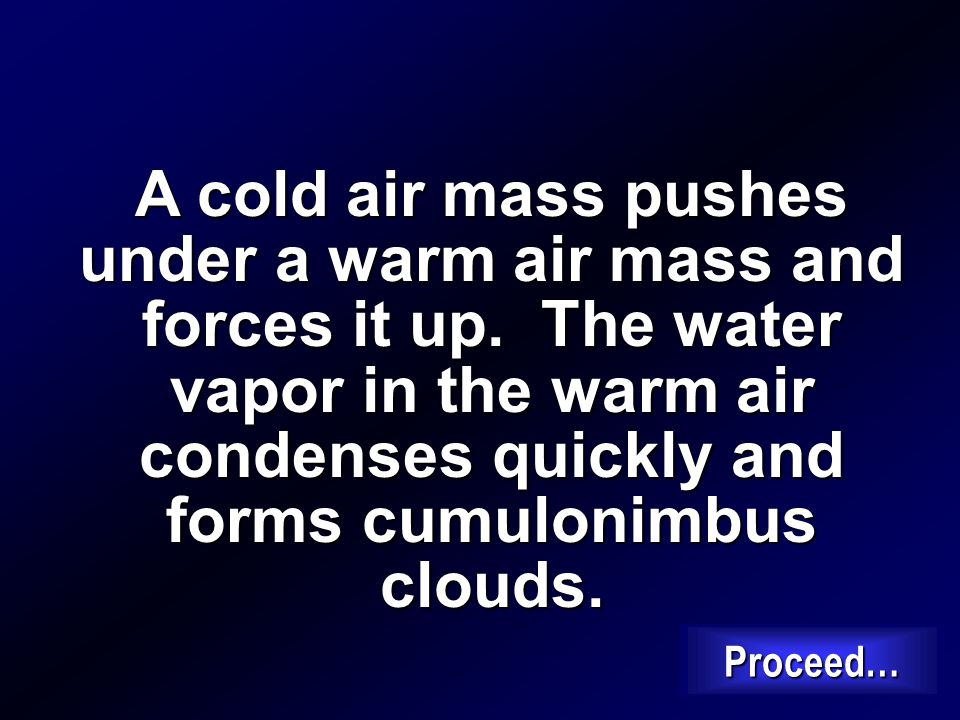 How do cumulonimbus clouds form? Proceed…