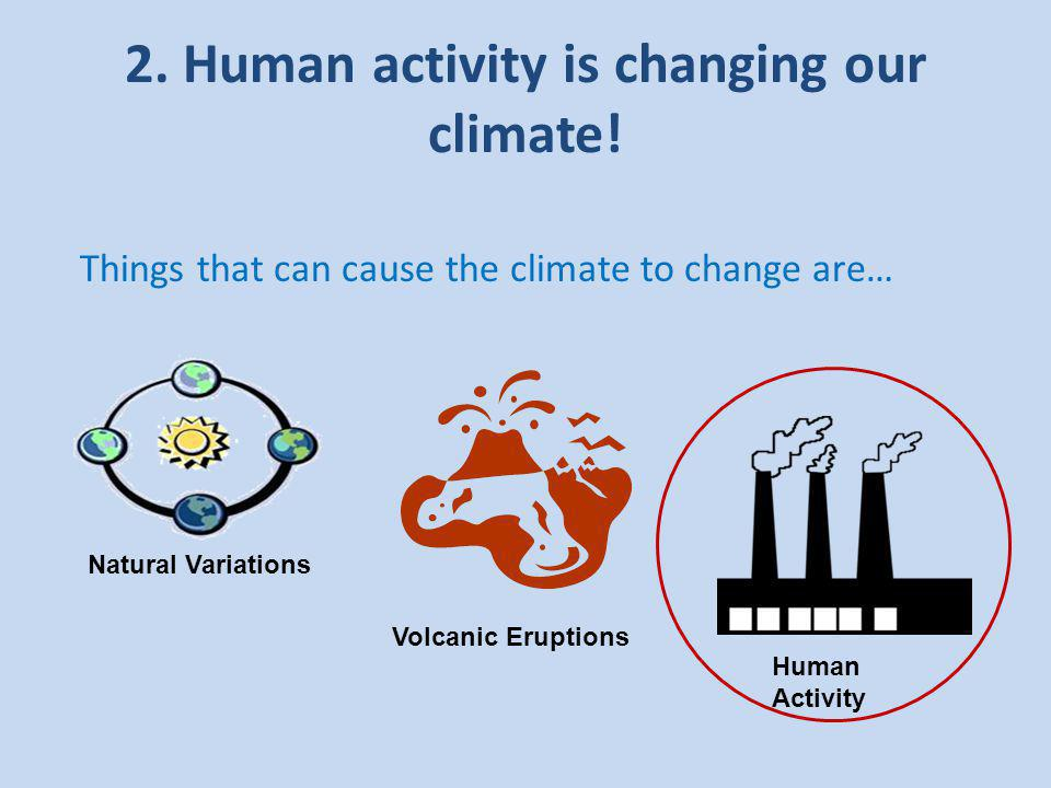 5. Climate change is affecting our lives