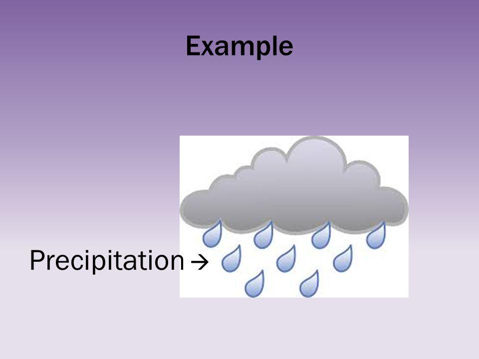 Example Precipitation