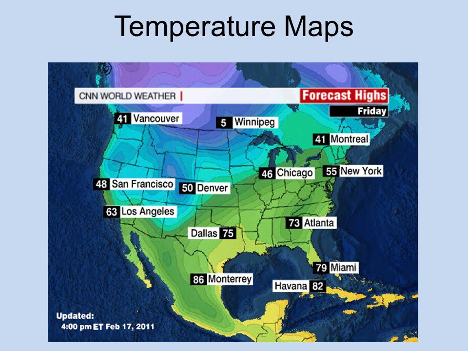 Temperature Maps
