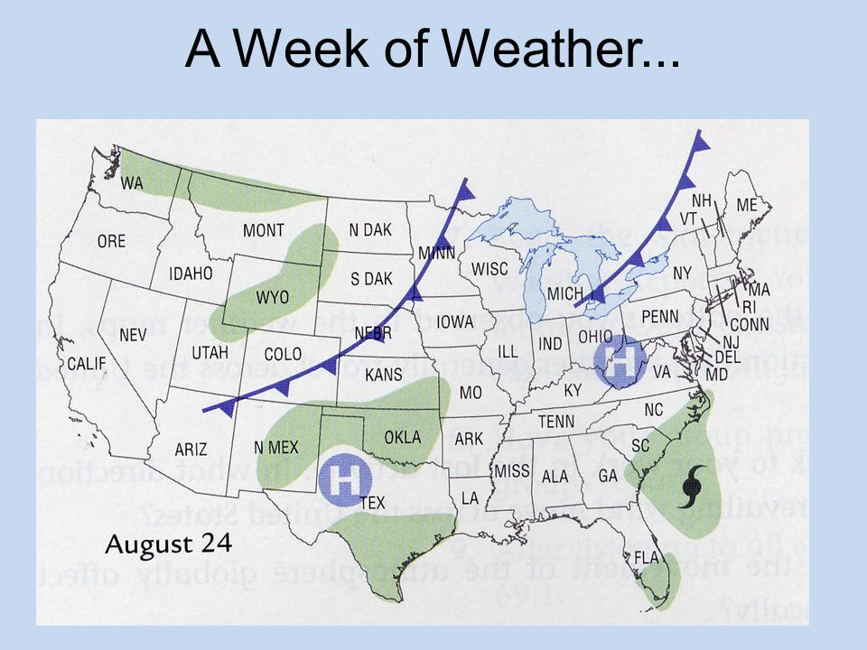 A Week of Weather...
