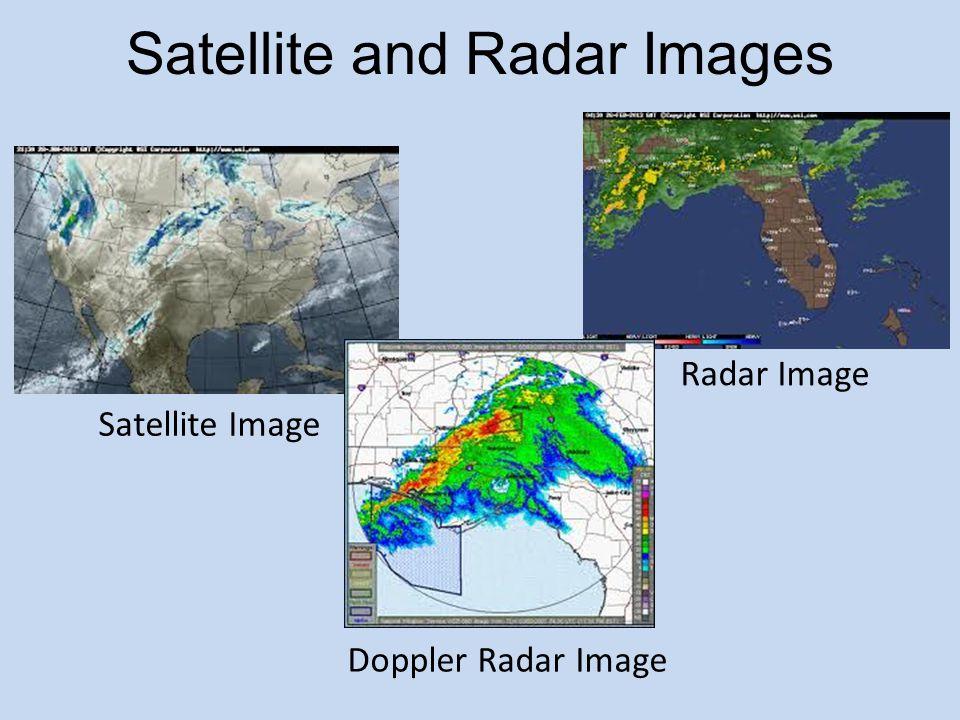 Satellite Image Radar Image Doppler Radar Image