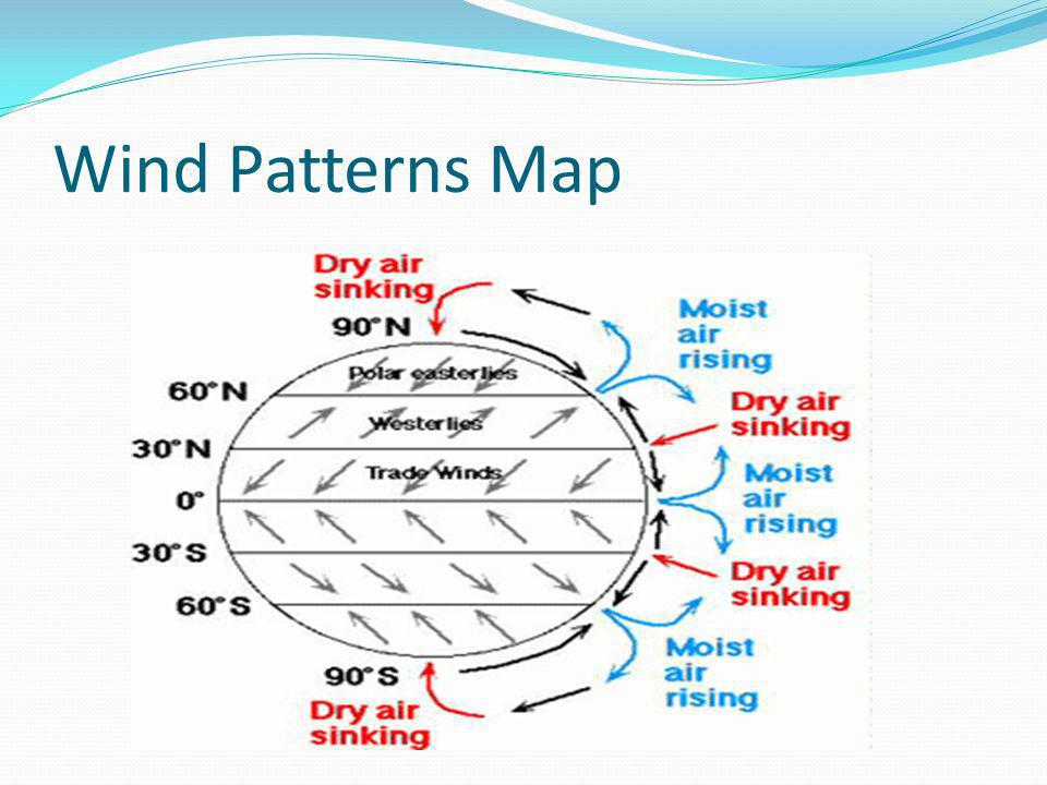 Wind Patterns Map