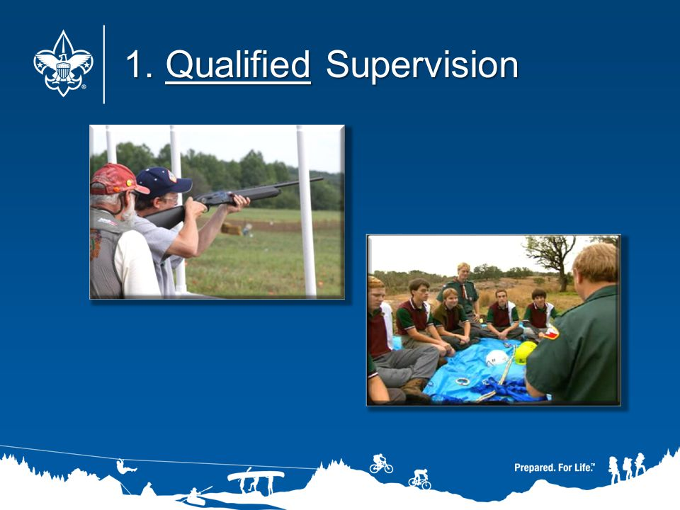 1. Qualified Supervision 1. Qualified Supervision
