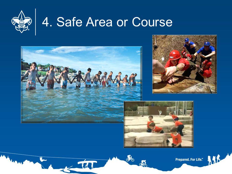 4. Safe Area or Course