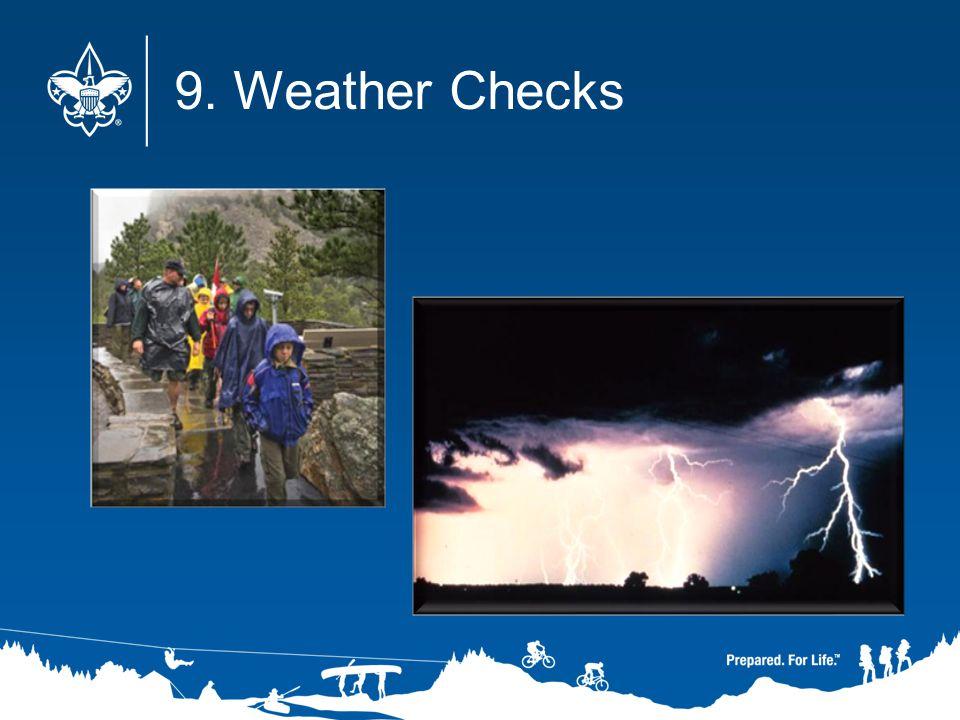 9. Weather Checks