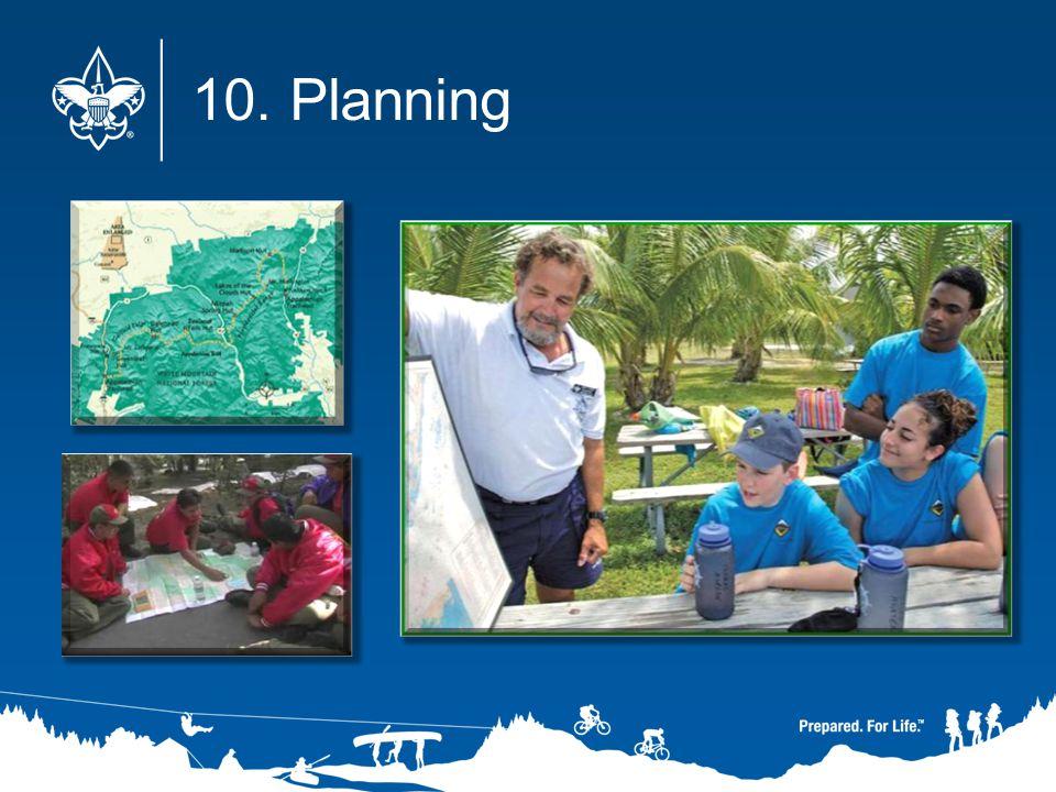10. Planning
