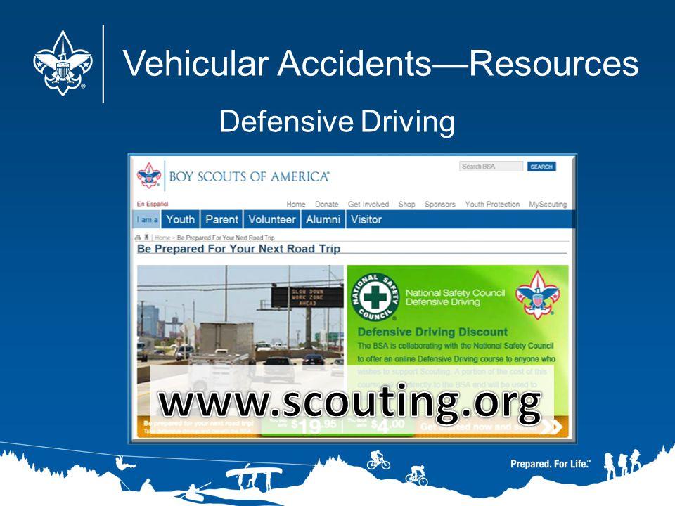 Vehicular AccidentsResources Defensive Driving