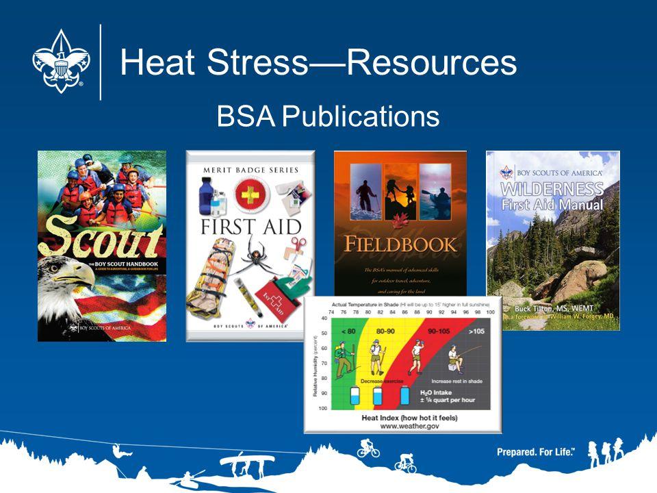 Heat StressResources BSA Publications