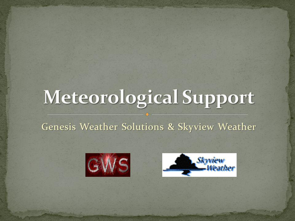 Genesis Weather Solutions & Skyview Weather