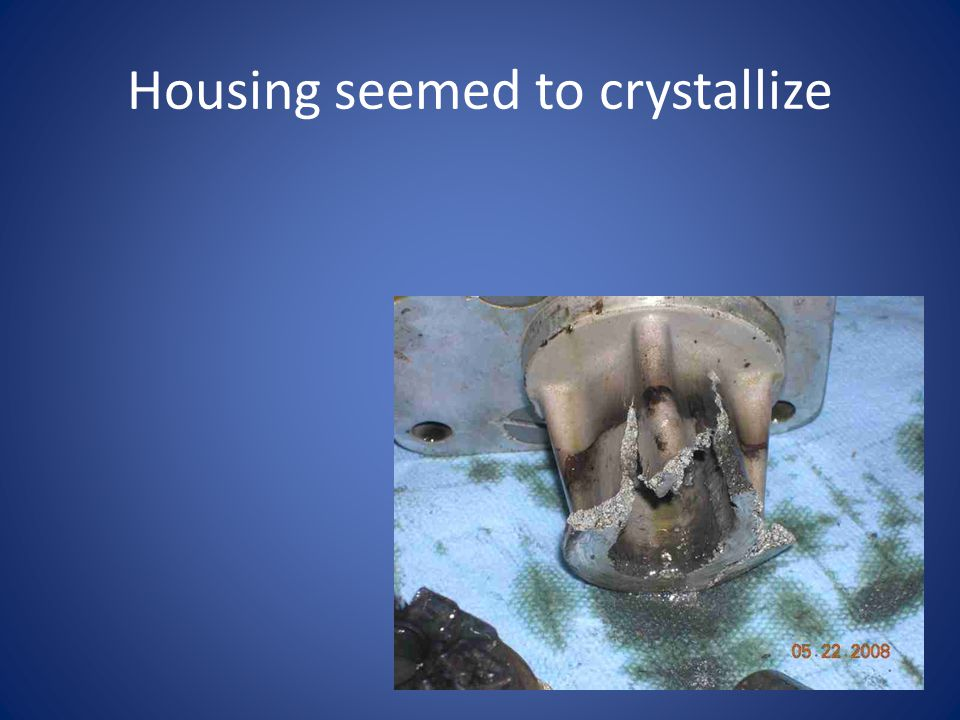Housing seemed to crystallize