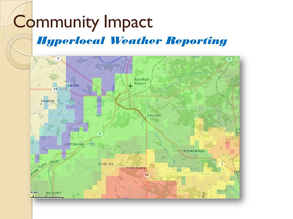 Community Impact Hyperlocal Weather Reporting