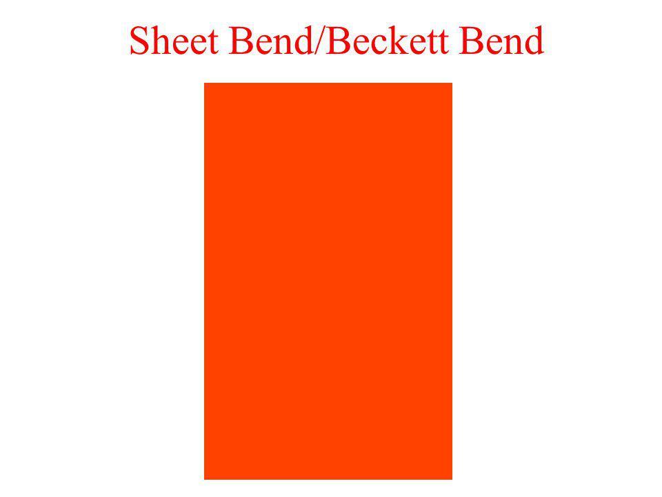 Sheet Bend/Beckett Bend