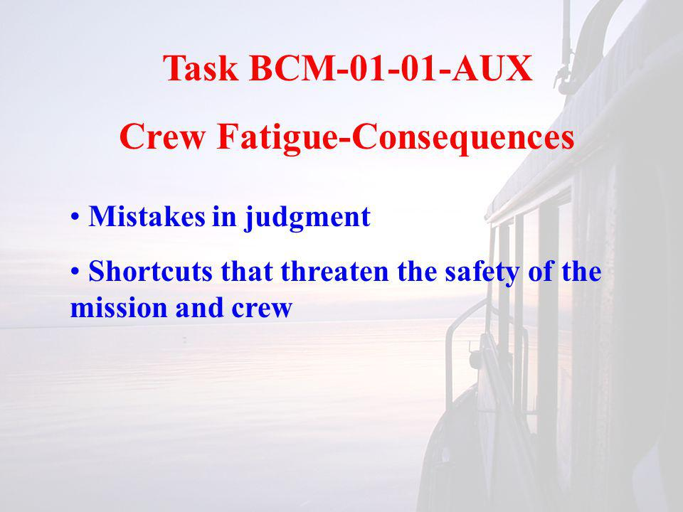 Task BCM-03-01-AUX Marlinspike