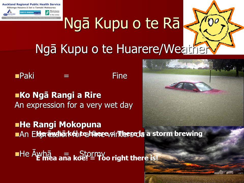 Te Wiki o te Reo Māori Rāhina/ Monday 23-29 July 07