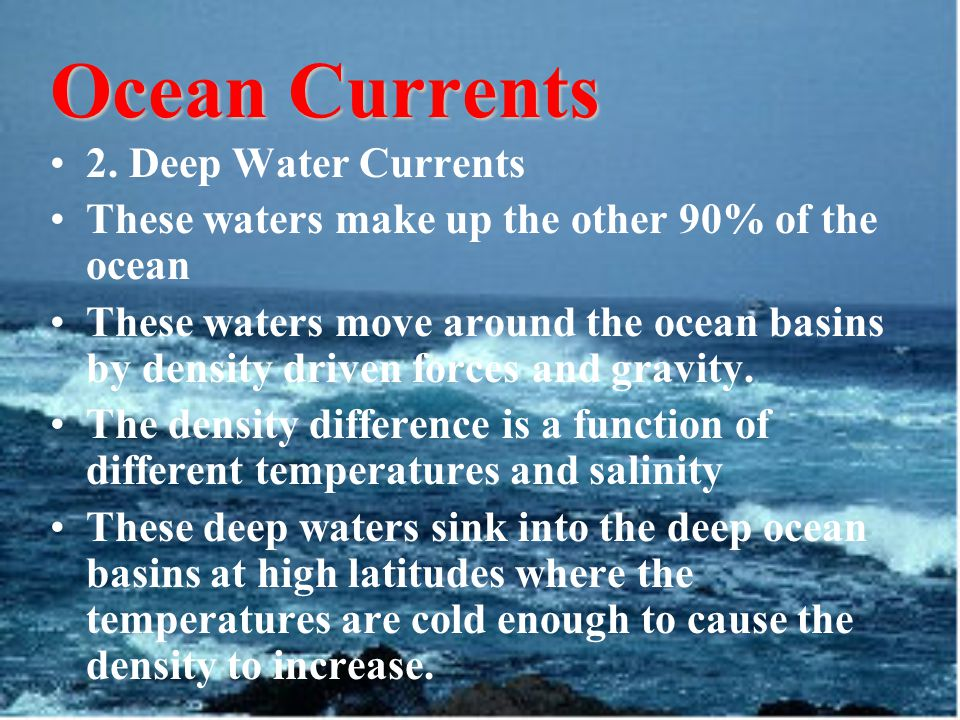 Ocean Currents 2.