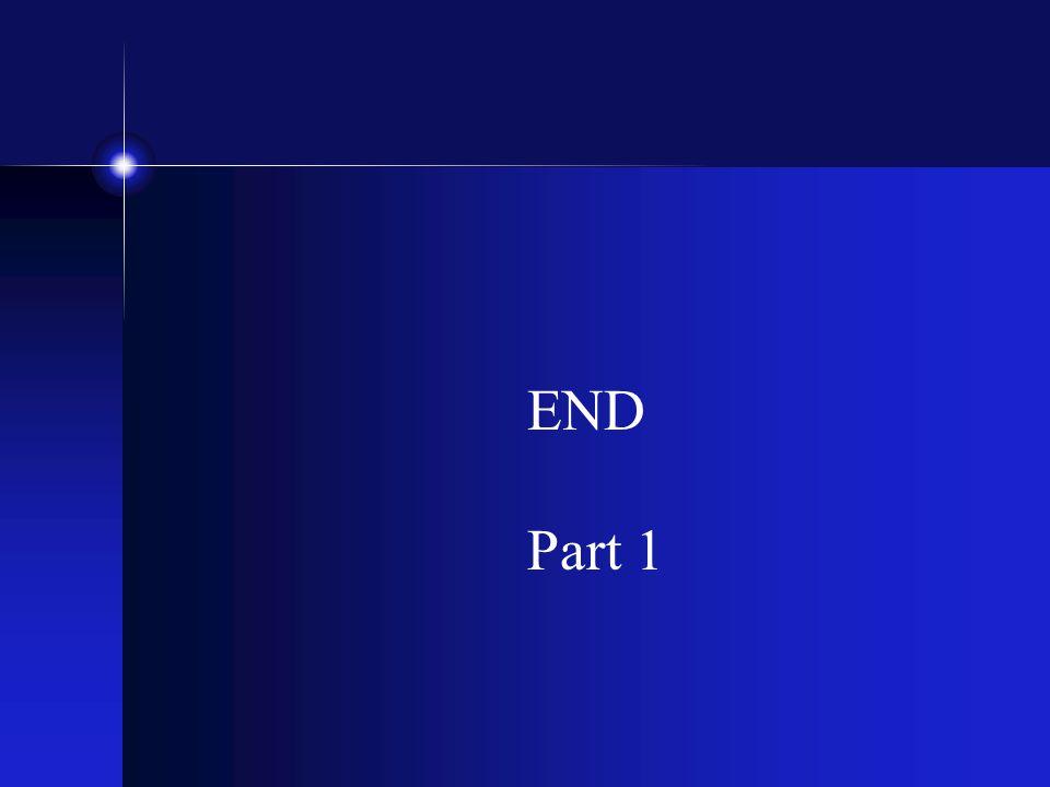 END Part 1