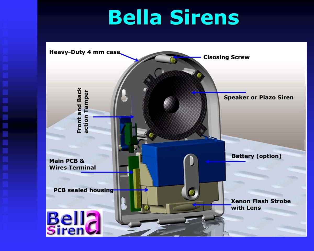 AV-755 & PS1 Sirens AV-755 & PS1 Sirens AV-755, Internal Mini Siren Internal Siren with Piezo Speaker ABS plastic, White Color Supplied with 150 mm (6