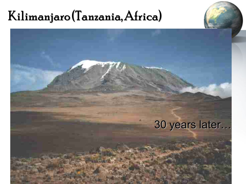 Kilimanjaro (Tanzania, Africa) 30 years later…