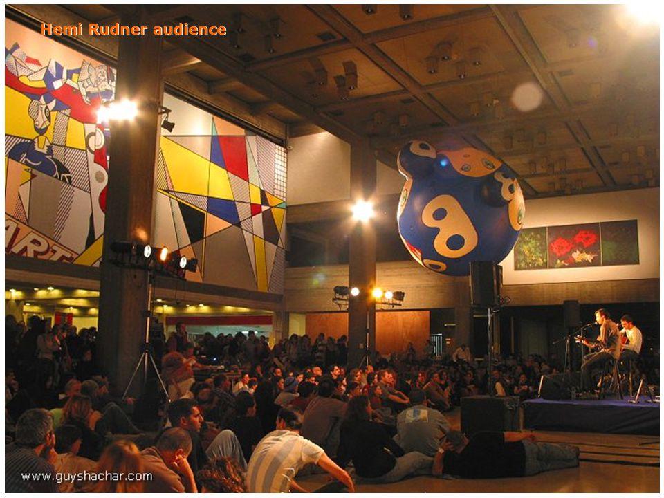 Hemi Rudner audience