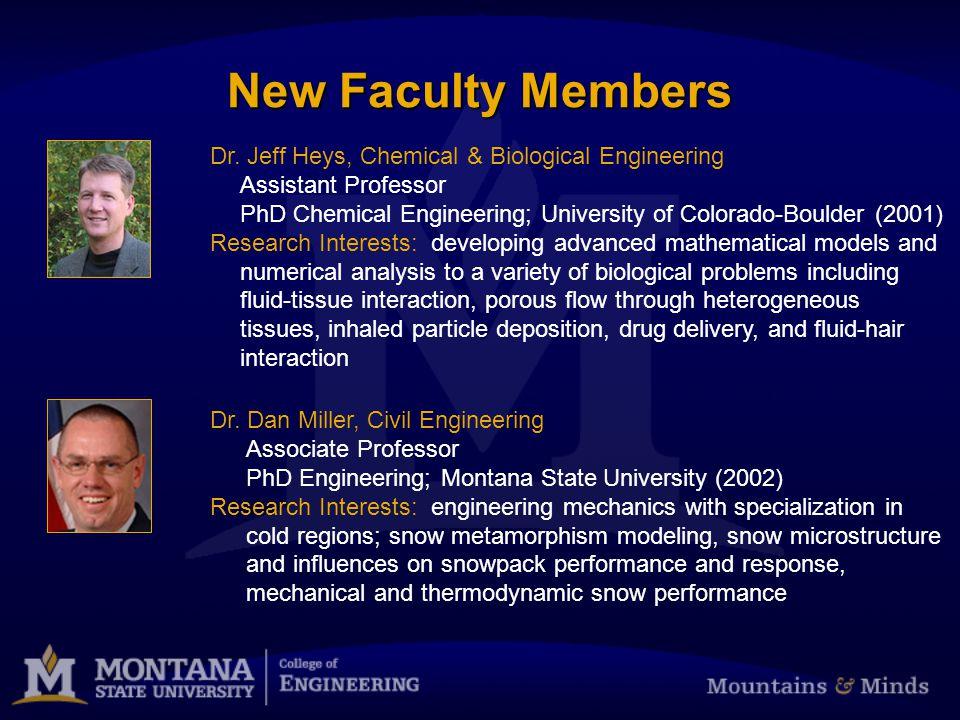 Thank you Questions? Visit www.coe.montana.edu for updates www.coe.montana.edu