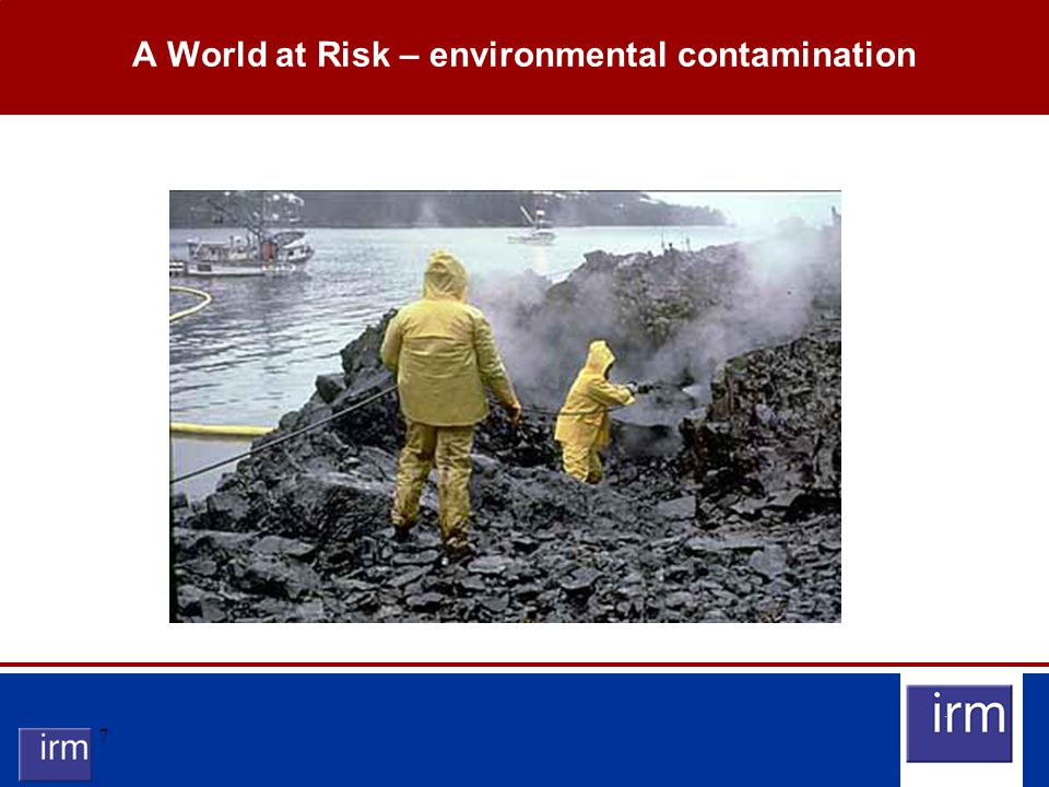7 A World at Risk – environmental contamination