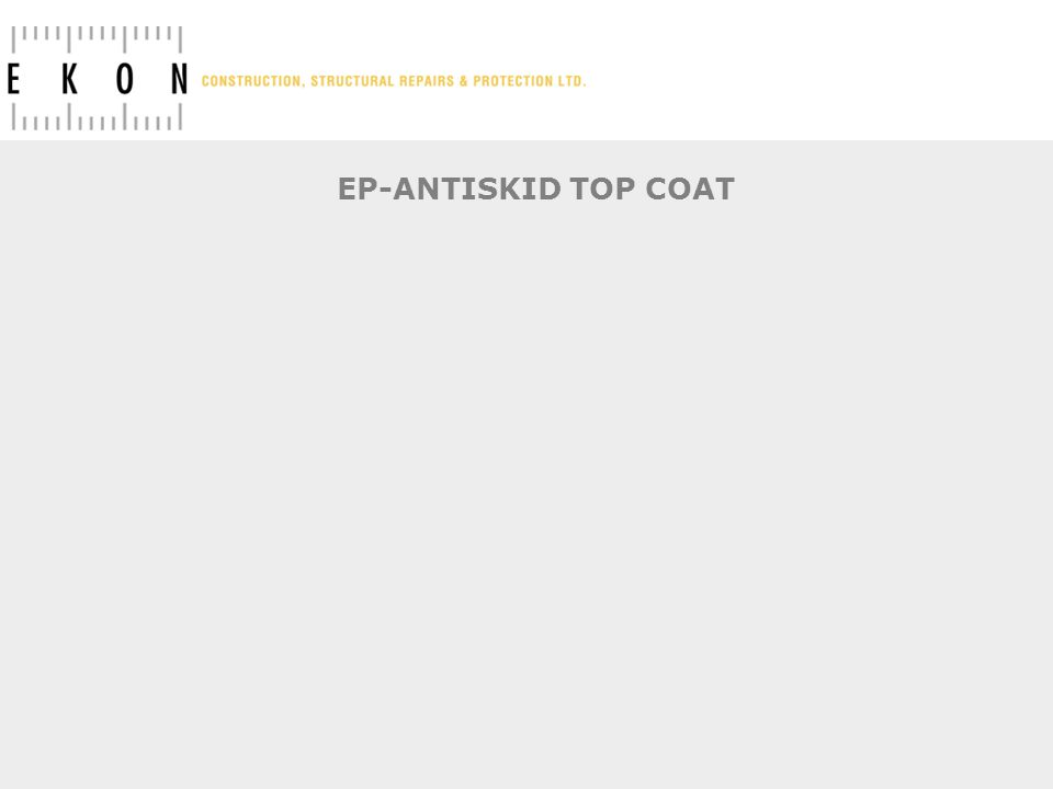 EP-ANTISKID TOP COAT