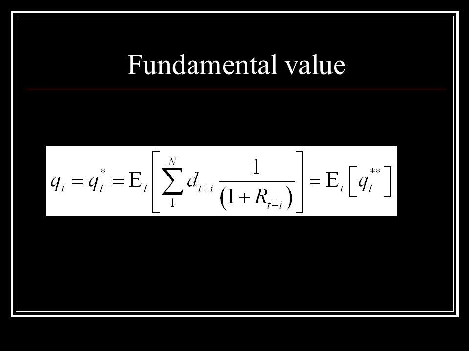 Fundamental value