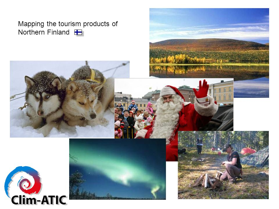 Mapping the tourism products of Northern Finland