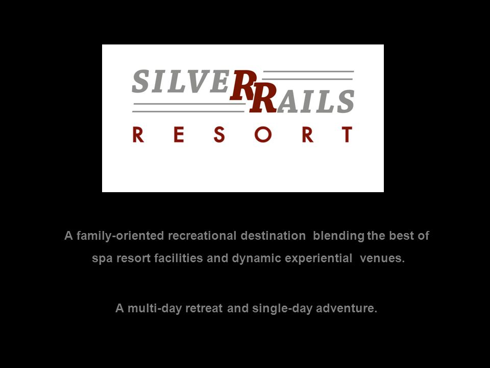 A family-oriented recreational destination blending the best of spa resort facilities and dynamic experiential venues.