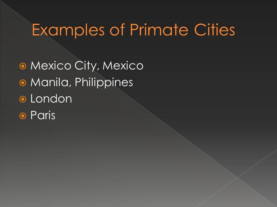 Mexico City, Mexico Manila, Philippines London Paris
