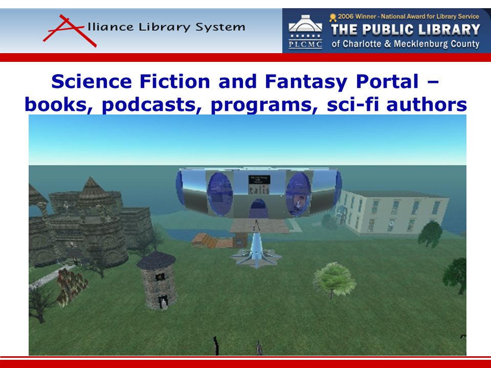Science Fiction and Fantasy Portal – books, podcasts, programs, sci-fi authors
