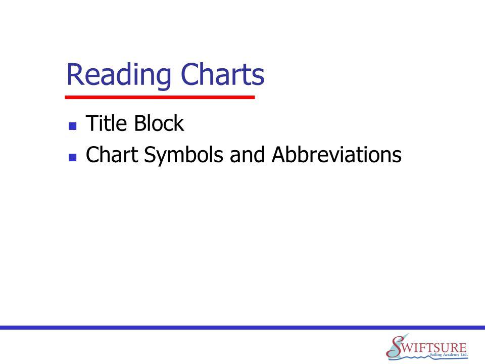 Reading Charts Title Block Chart Symbols and Abbreviations