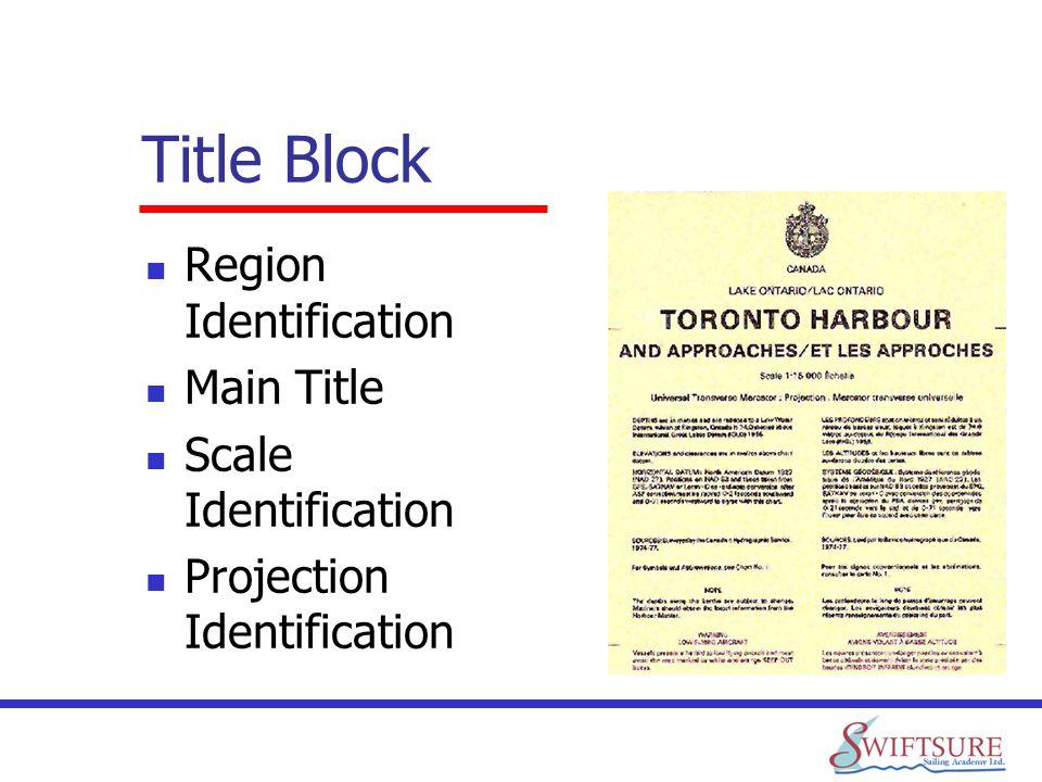 Title Block Region Identification Main Title Scale Identification Projection Identification