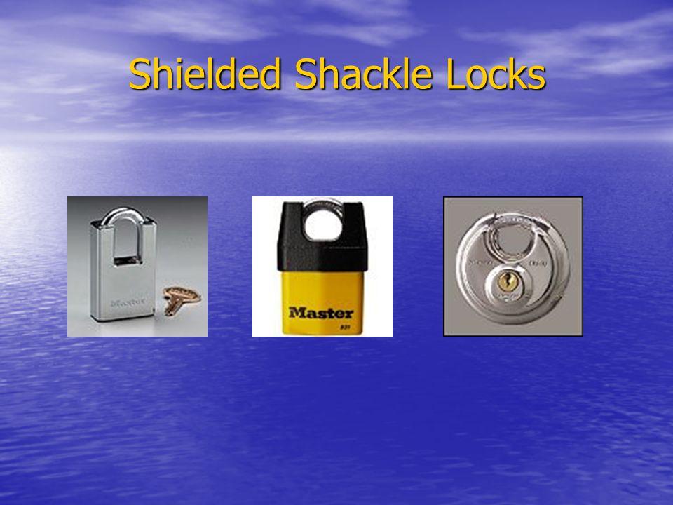 Shielded Shackle Locks