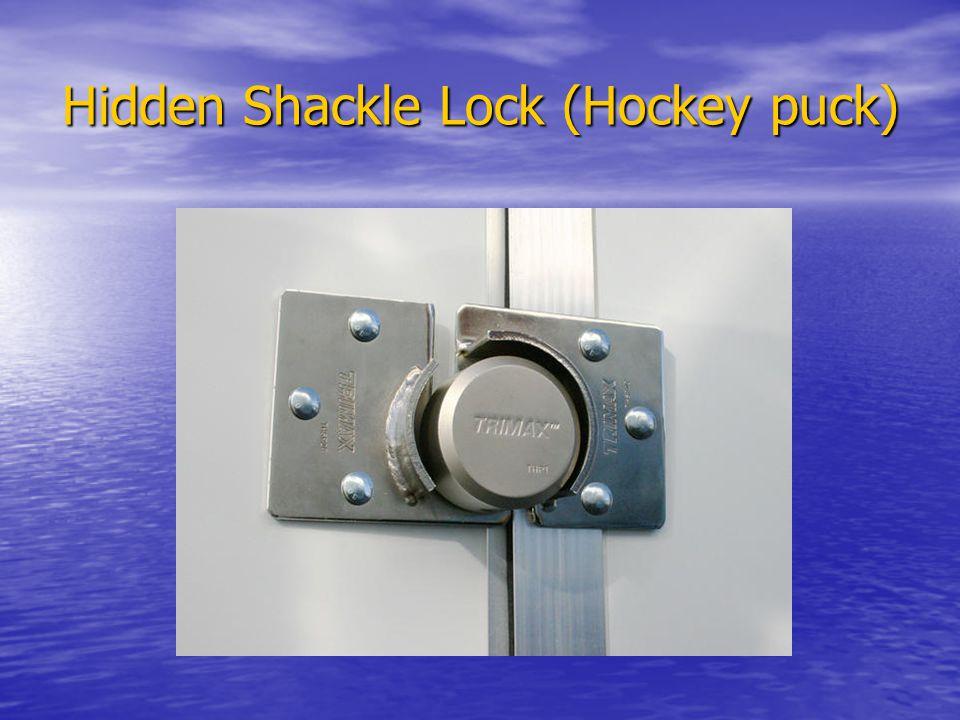 Hidden Shackle Lock (Hockey puck)