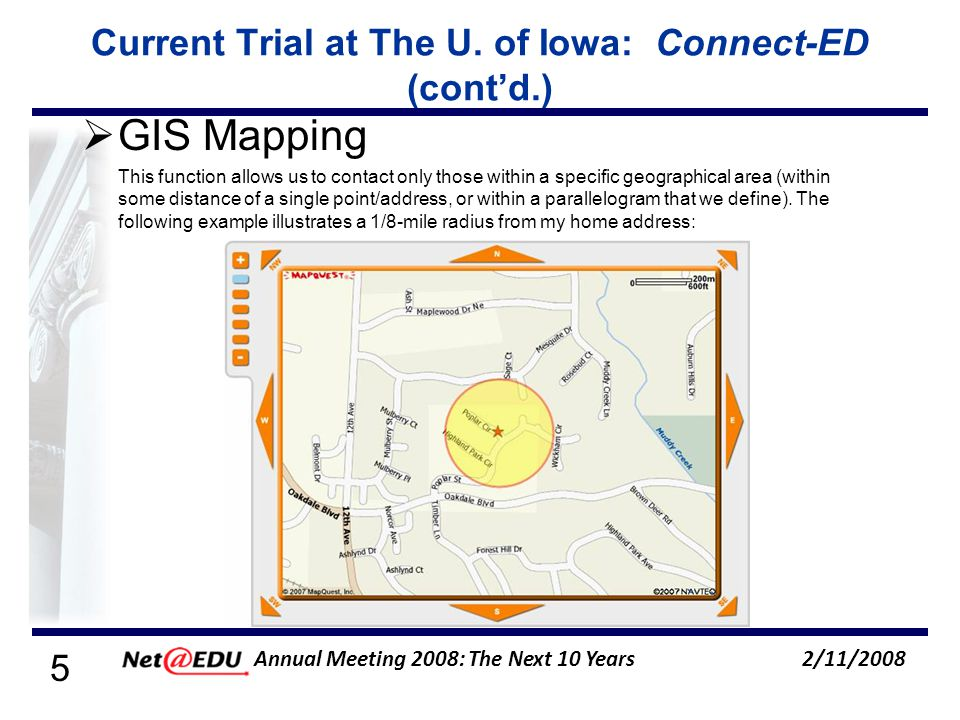5 2/11/2008 Annual Meeting 2008: The Next 10 Years Current Trial at The U.