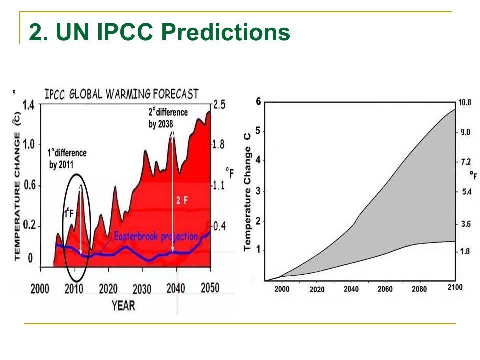 2. UN IPCC Predictions