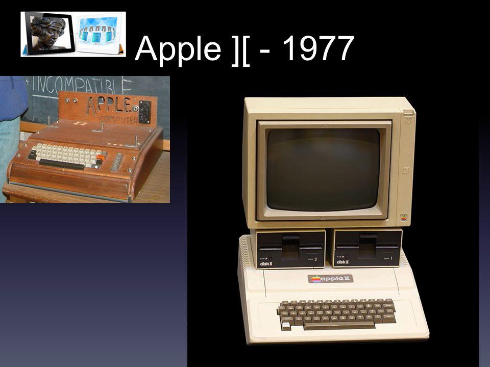 Apple ][ - 1977
