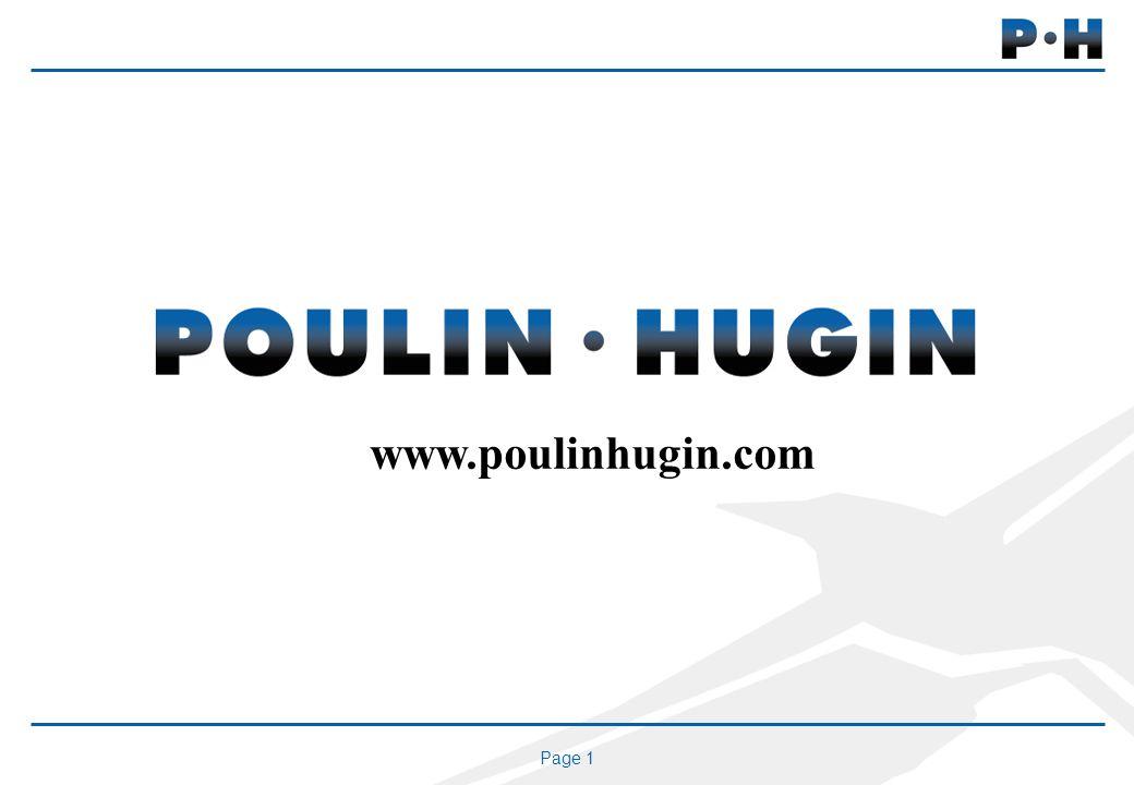 Page 1 www.poulinhugin.com