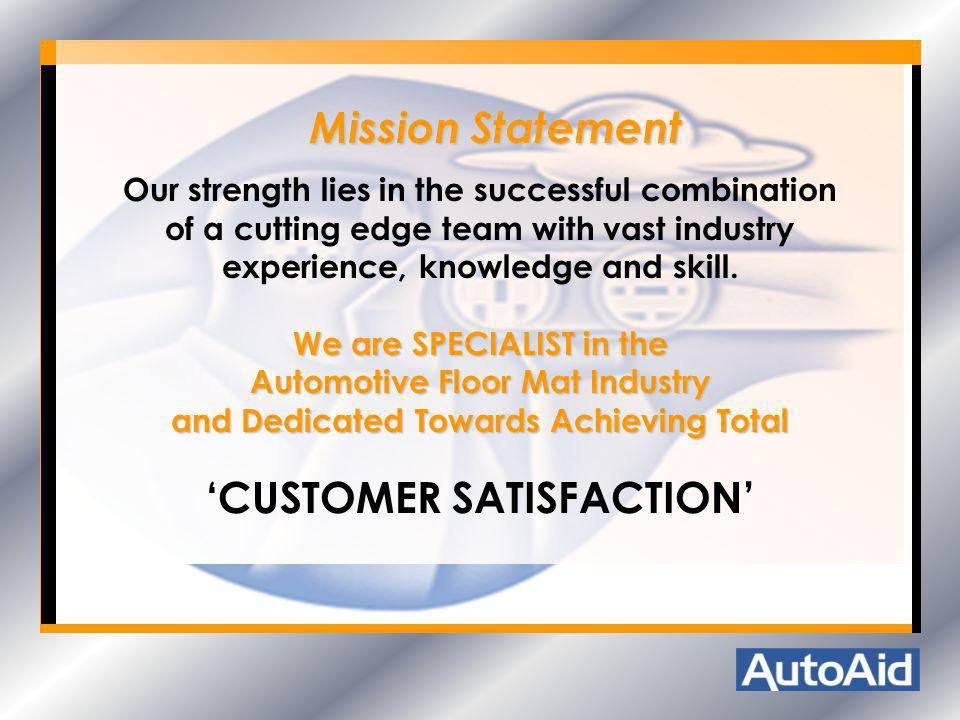 Our strength lies in the successful combination of a cutting edge team with vast industry experience, knowledge and skill. We are SPECIALIST in the Au
