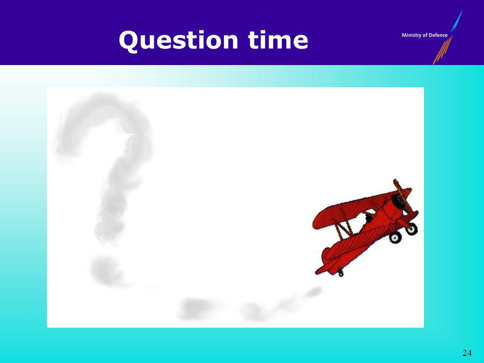Question time 24