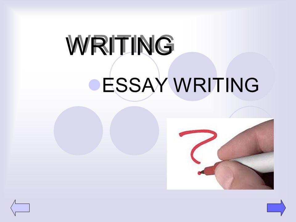 WRITING ESSAY WRITING 12