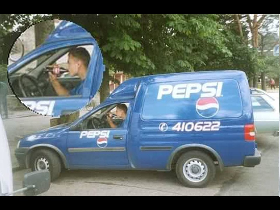 A: Situational Irony You wouldnt expect to see a Pepsi delivery man drinking a Coke.