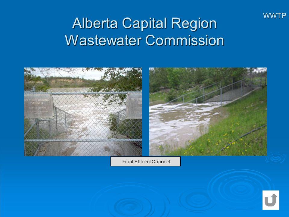 Alberta Capital Region Wastewater Commission WWTP Final Effluent Channel