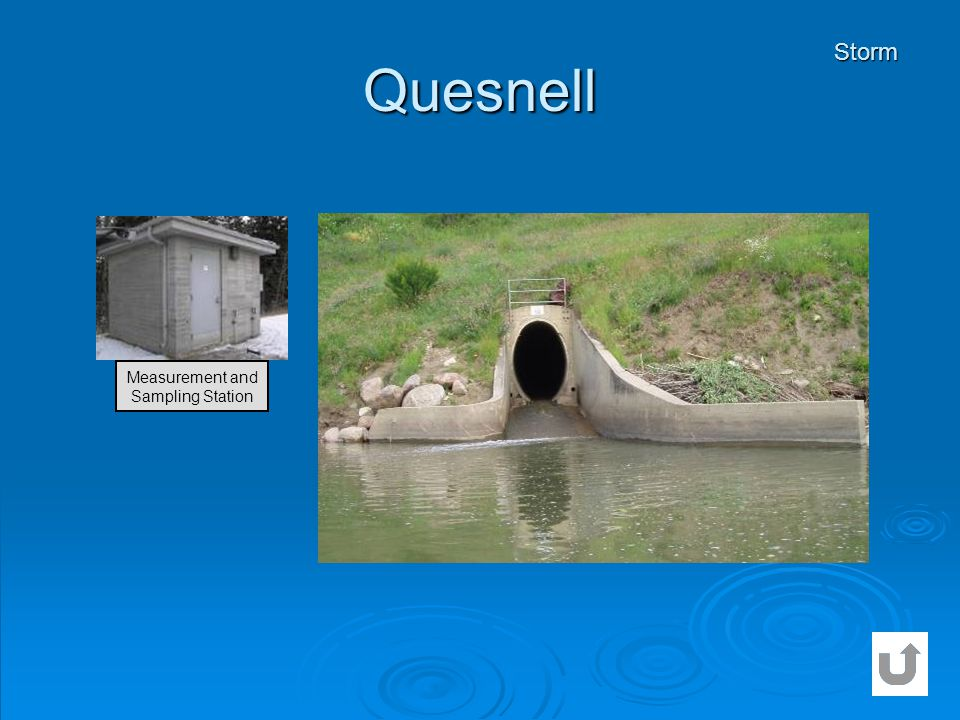 Quesnell Storm Measurement and Sampling Station