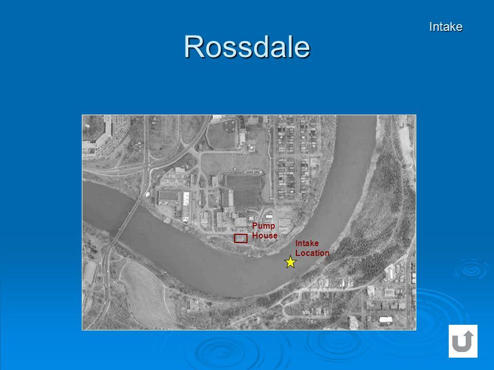 Rossdale Intake Pump House Intake Location
