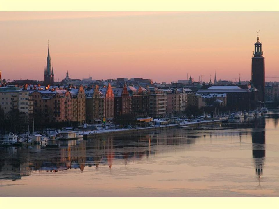 Stockholm became the capital 750 years ago.