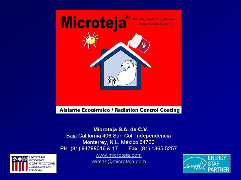 Microteja S.A. de C.V. Microteja S.A. de C.V. Baja California 406 Sur Col.