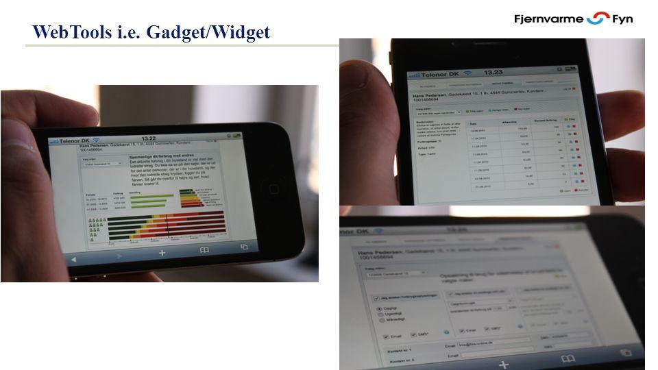 Side 35 WebTools i.e. Gadget/Widget